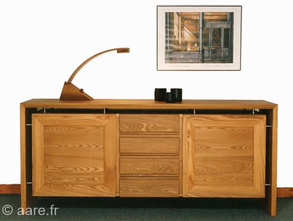 Bahut argos 2 portes 4 tiroirs meubles aare - Salle a manger en orme ...