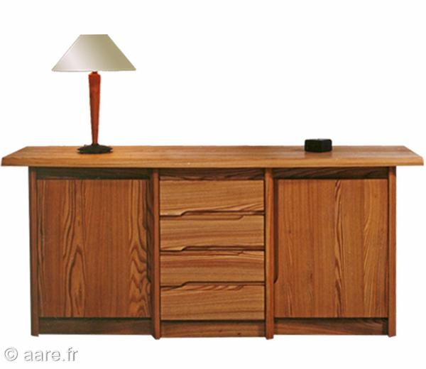 Bahut artemis 2 portes 4 tiroirs meubles aare for Meuble artemis