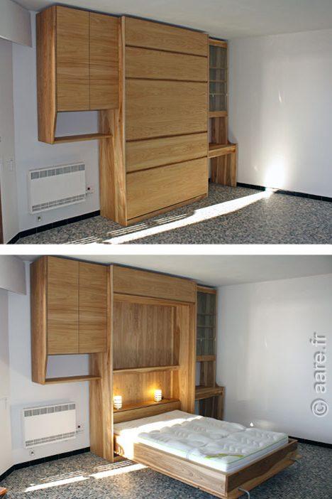 Dans quel cas faire un meuble sur mesure meubles aare - Lit integre dans un meuble ...
