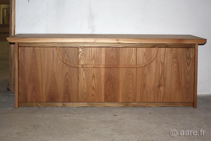meuble bas arno orme massif sur-mesure