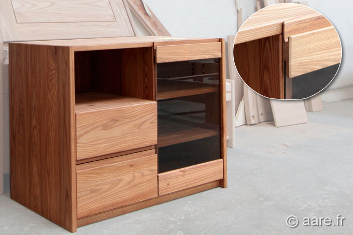 meuble complement M orme massif sur-mesure